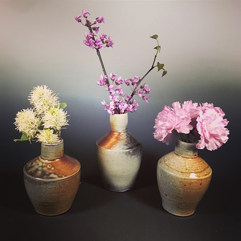 Wood Fired Bud Vases