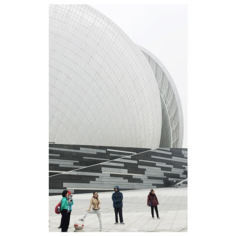 """Opera House, Zhuhai"" China Photographic series by Dani Green 2017"