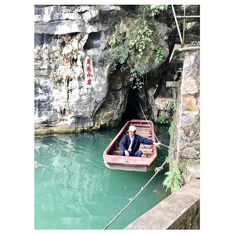 """Caving, Yangshou"" China Photographic Series by Dani Green 2017"