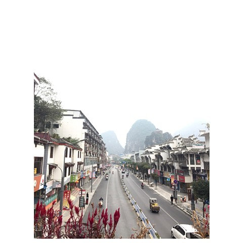 """Pantao Road, Yangshou"" China Photographic Series by Dani Green 2018"