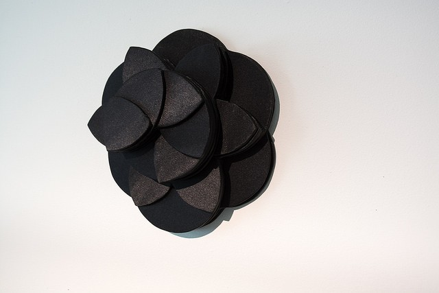 Flower of Life (Black Cloth) - side view