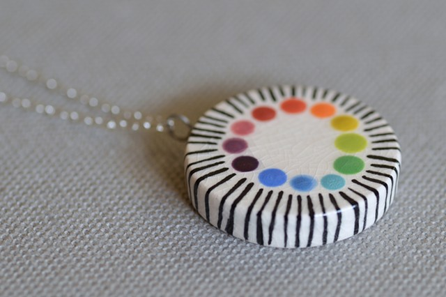 Glaze Test, Large Necklace