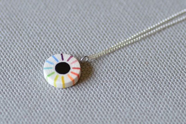 Color Dash, Small Necklace