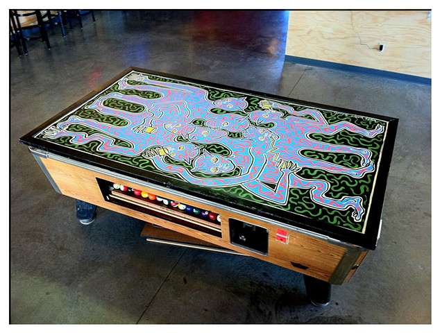Pool Table Cover for Hangar 9
