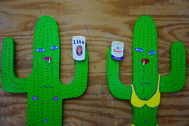 Cacti Couple