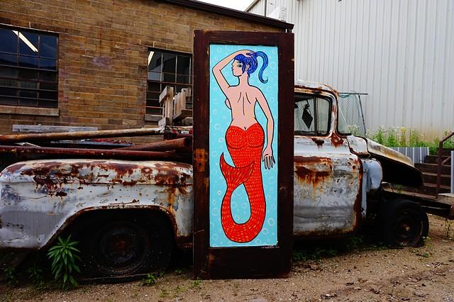 Mermaid Door