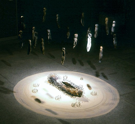 Non-Corporeal Reality (Installation view)