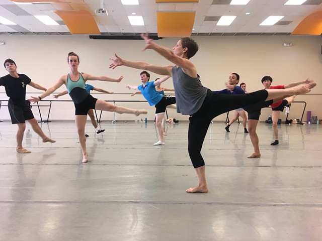 Red Rover was a dance work created on Tulsa Ballet II in the summer of 2017 in collaboration with dancer and choreographer Karen Castleman. For music we used the chorale from Beethoven's 9th Symphony, and structured the piece around the games, rivalries,