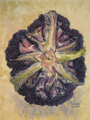 Purple Cauliflower, Vegetable, Still Life