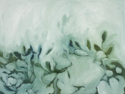 Sea Grape, oil on canvas by Morgan Johnson Norwood