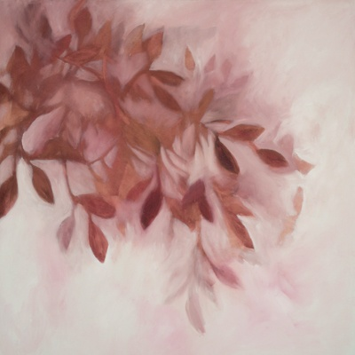 In the Pink, oil on canvas by Morgan Johnson Norwood