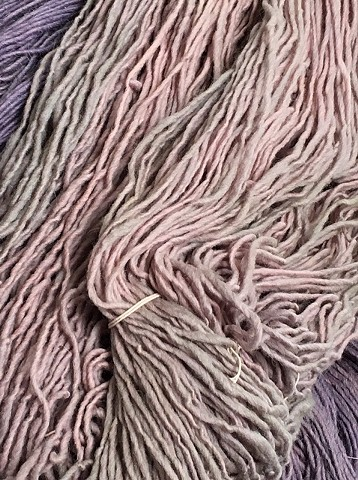 Hand Dyed Clasgens Wool (2 skeins Available)