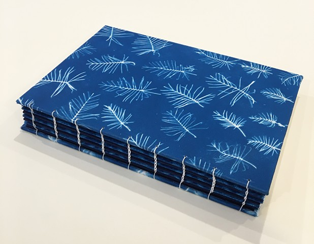 Cyanotype Journal (detail)