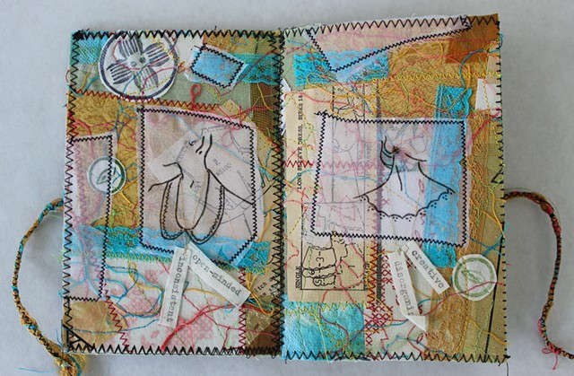 Fabric Artist's Book by Lesley Patterson-Marx