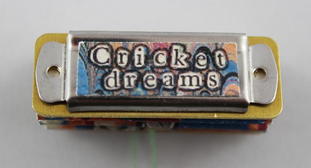 Cricket Dreams, a miniature book by Lesley Patterson-Marx