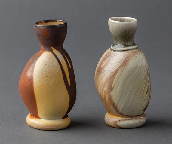 Two rock vessels