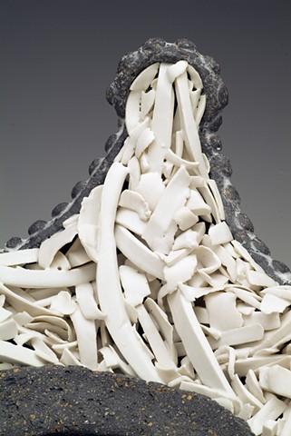 white rubble crown detail