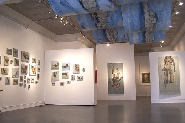 Oil and Water Don't Mix, Installation view
