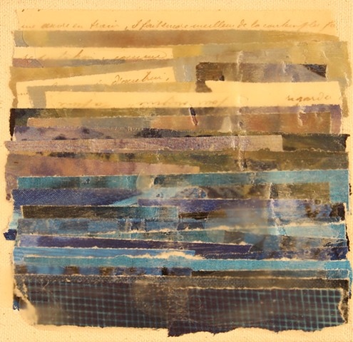 Study of Blues in Wax