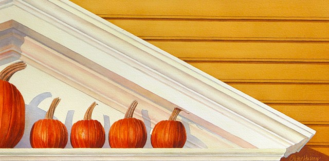 Pumpkin Pediment (print)