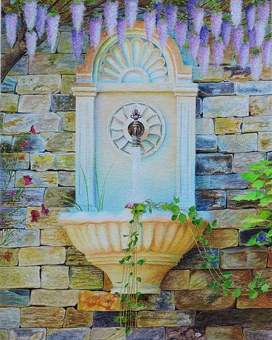 Wisterian Fountain