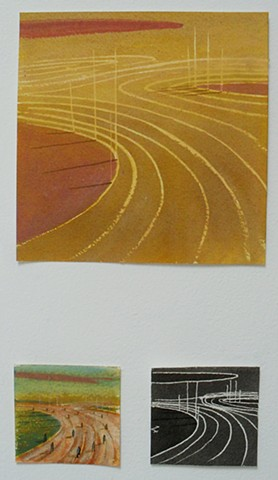 oval architecture - triptych 6