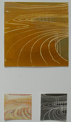 oval architecture - triptych 5
