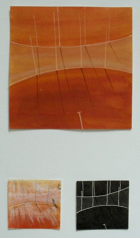 oval architecture - triptych 1