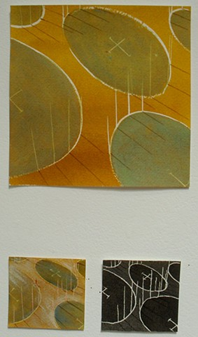 oval architecture -triptych 2