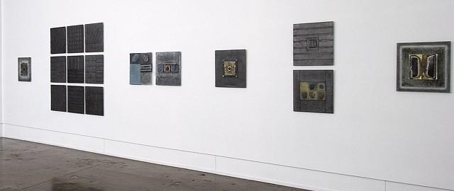 Glass installation/Quirk Gallery