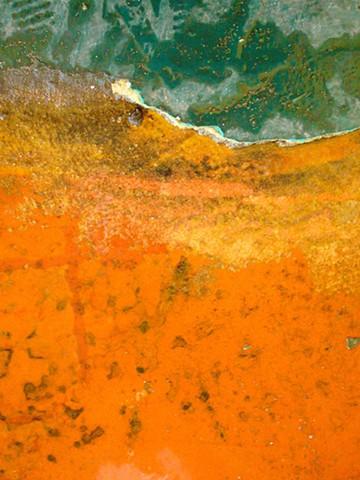 Orange/Green Composition