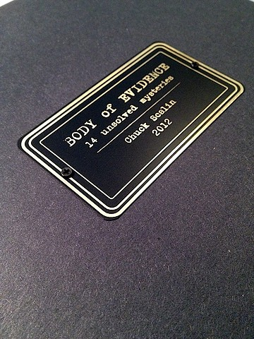 Book Art plaque