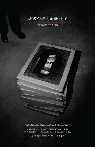 Poster for Body of Evidence Exhibit