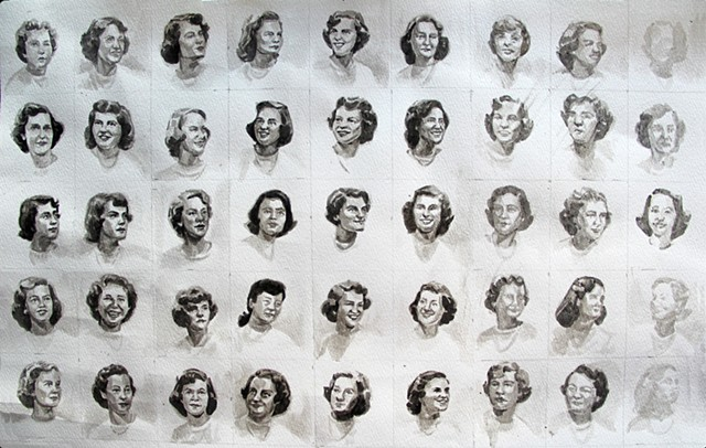 Spinster Class of '52 (in progress)