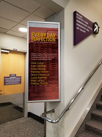 Everyday Perfection exhibition at the Albany Airport Art + Culture Program