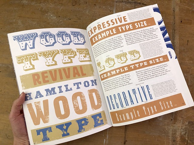 Hamilton Wood Type Revival