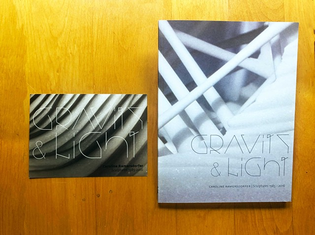 Invite and exhibition catalog