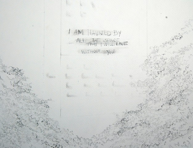 Untitled (haunted), (detail)