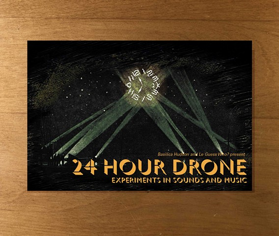 24 Hour Drone Postcard (front)