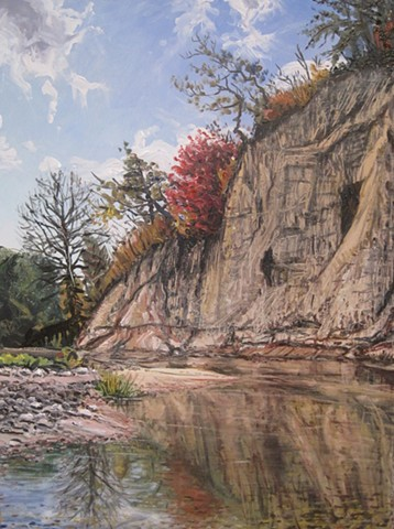 Rush River Cliff (Red Tree)