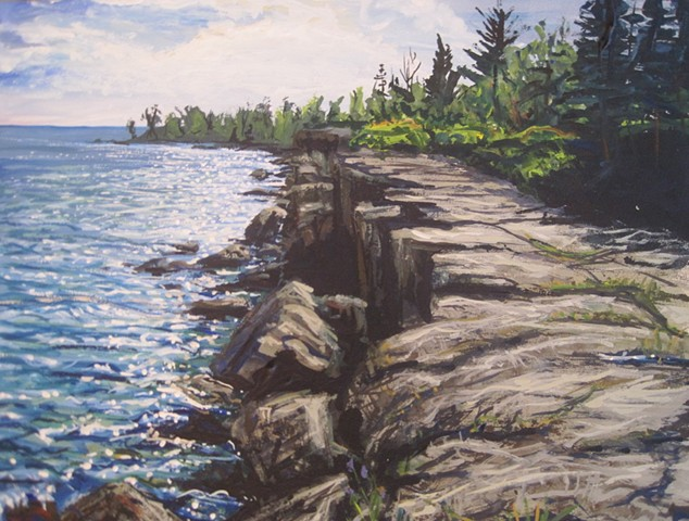 Gooseberry Cliffs (Lake Superior)