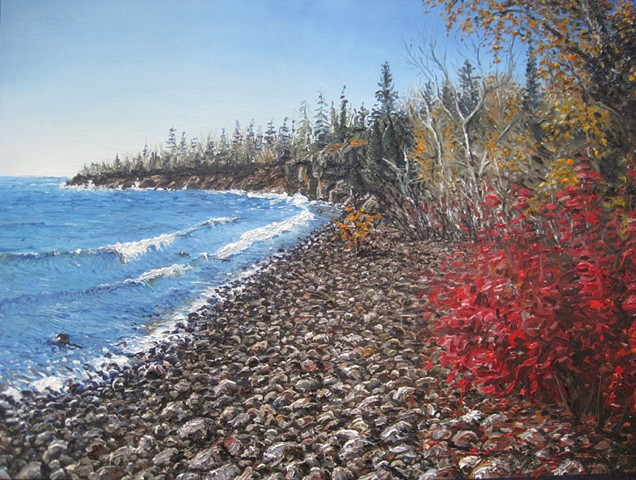 Lake Superior (Little Two harbors Beach)