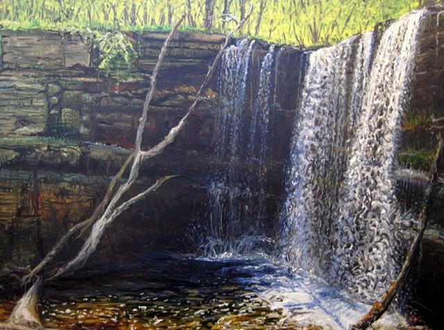 Minnewaukon Falls (Corner)