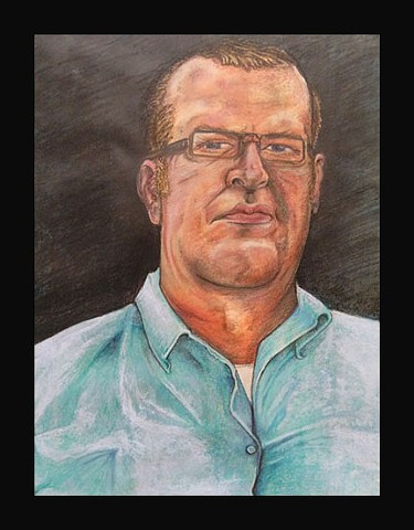 Self Portrait 2013-17 Pastel Study
