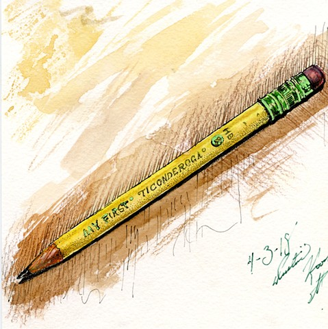My First Pencil for G.G.