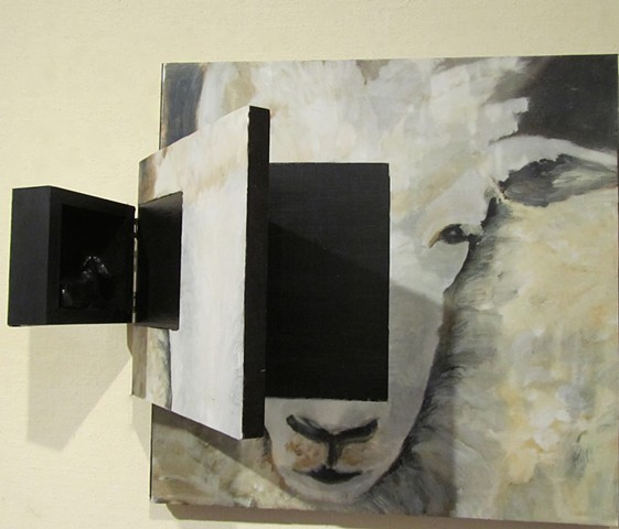 Baah, Baah, Black Sheep open detail