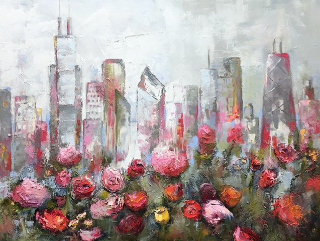 Chicago Cityscapes & Floral