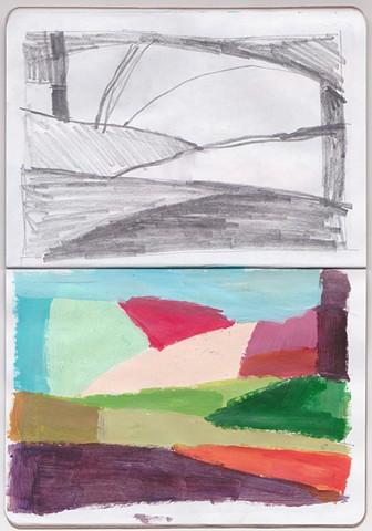 Sketchbook page #15