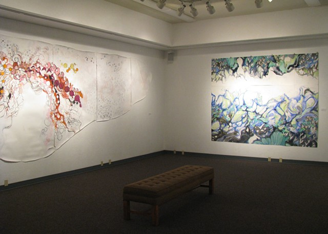 Gallery Installation at Rogue Community College
