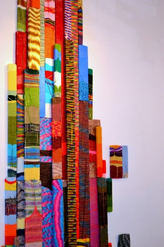 Color-Field Boards in Reclaimed Miami at Zadok Gallery